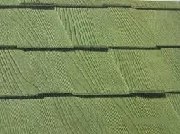 Mineral fiber asbestos roofing material