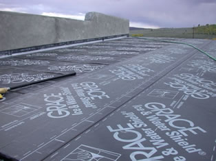 Flat Ice And Water Shield Installation