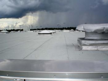 Bitumen rubber gray roof